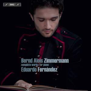 Zimmermann -  Complete Works for Piano :  Eduardo Fernández - SACD