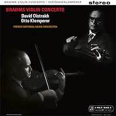 Brahms - Violin Concerto : David Oistrakh & Otto Klemperer : French National Radio Orch - 180g LP