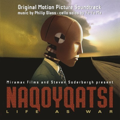 Philip Glass ft Yo Yo Ma - Naqoyqatsi : Life as War : OST - 180g 2LP